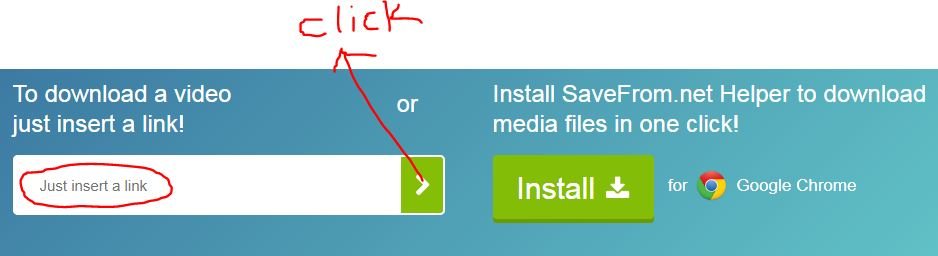 Download any videos without a software » Big Web Tips