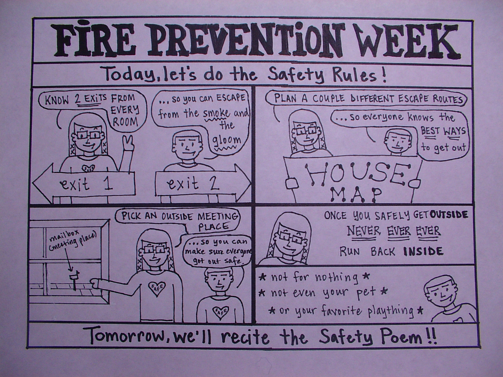 Fire Safety Rules
