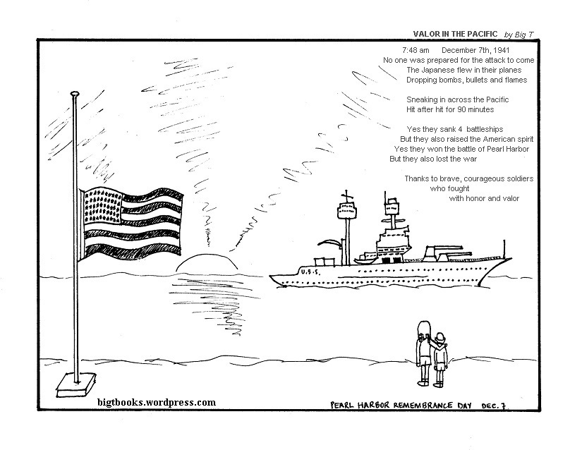 Pearl Harbor Day Coloring Pages