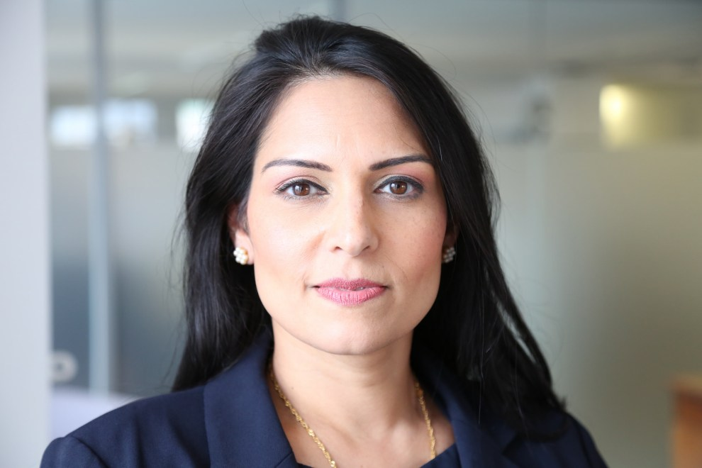 LinkedIn Priti Patel