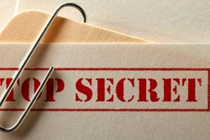 Secret Facebook messages
