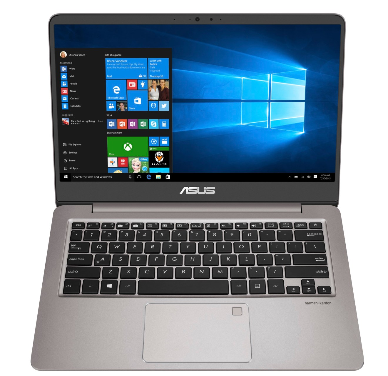 Asus ZenBook UX410UA review - straight on