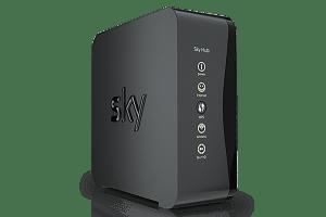 Sky Hub WPS button