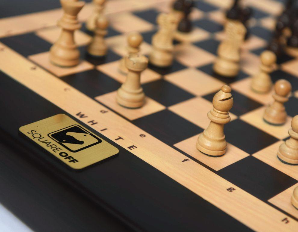 Square Off chess board