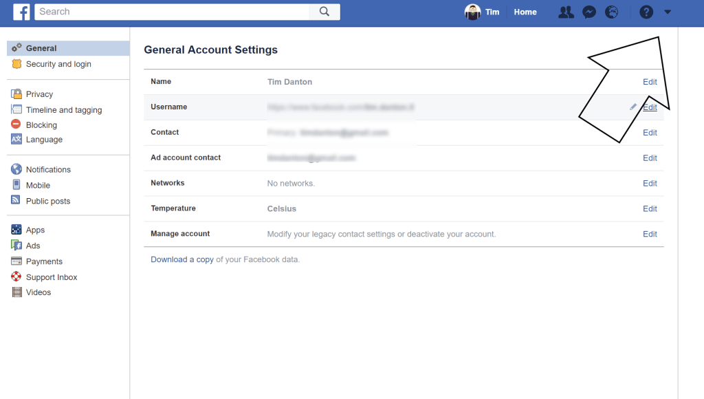 Switch off Facebook notifications
