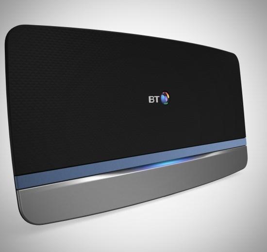 BT Home Hub settings