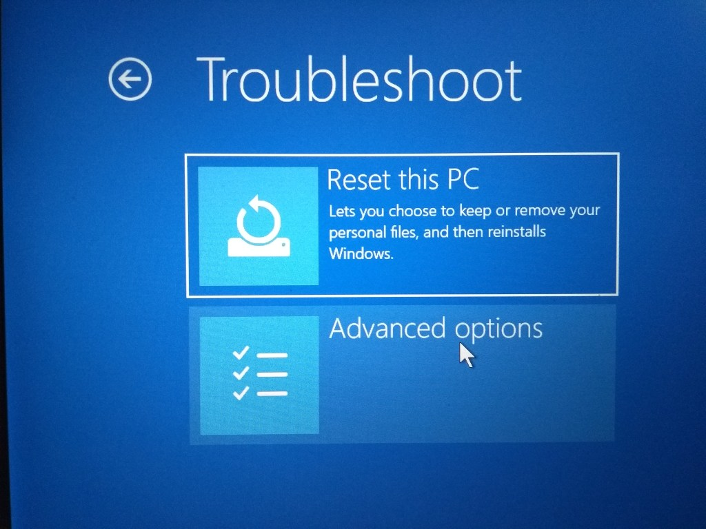 Windows 10 won't boot