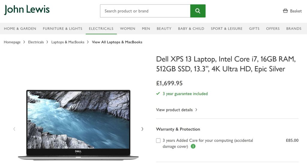 which Dell XPS 13 buy