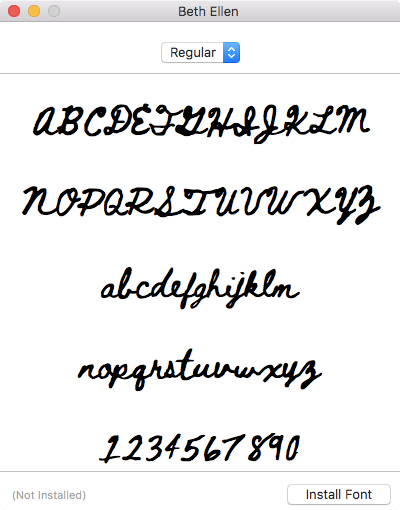 Download free fonts