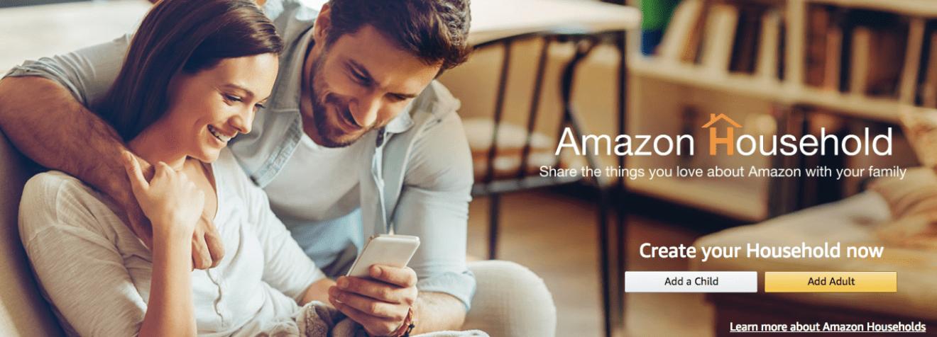 Share Amazon Prime membership