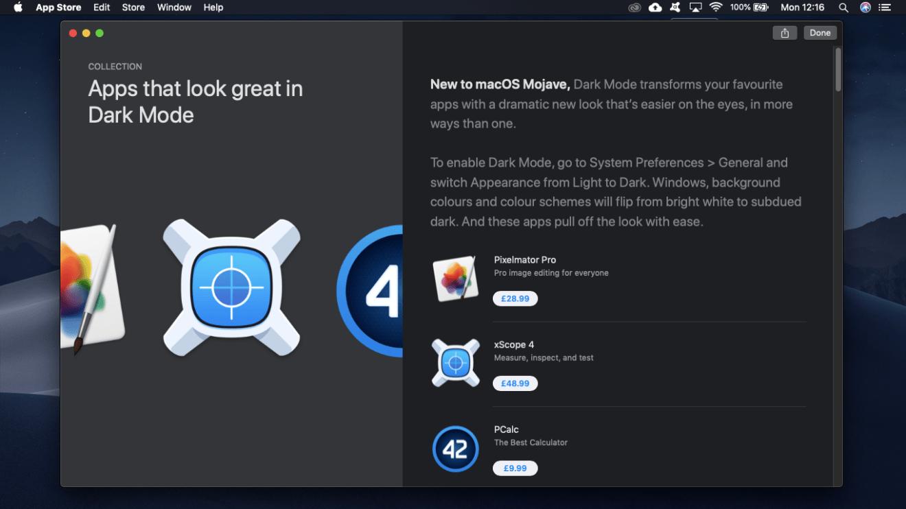 What is macOS Dark Mode?
