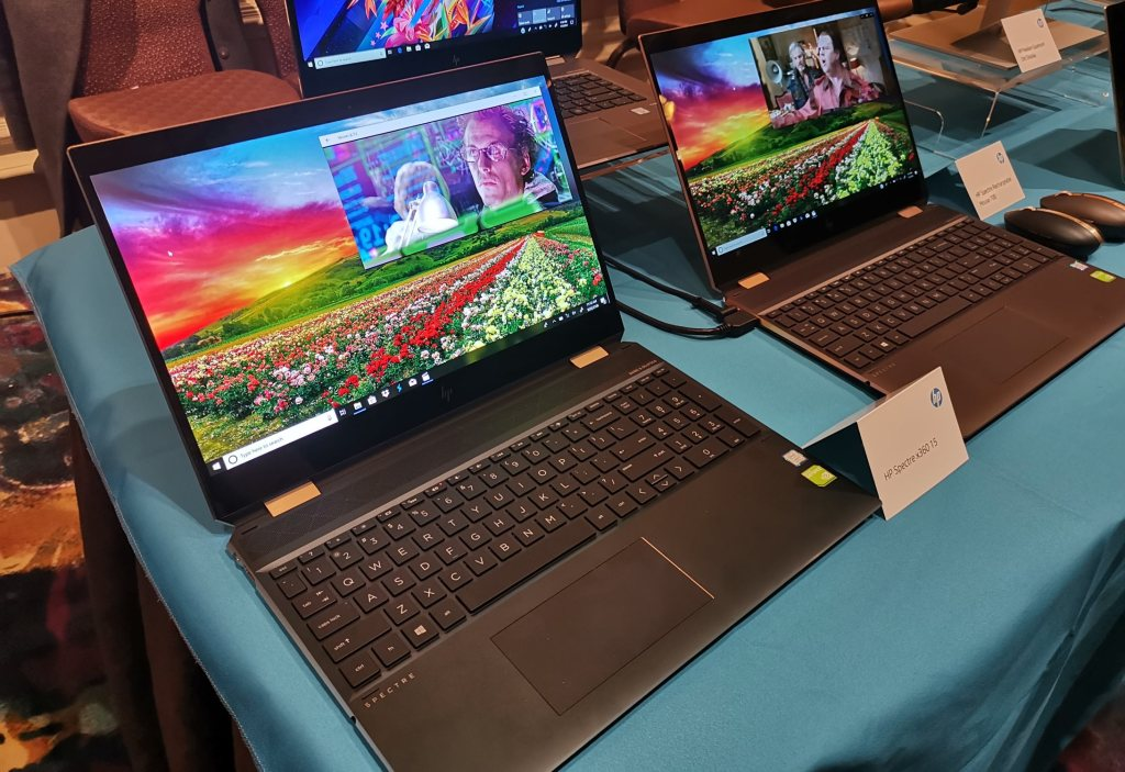 HP Spectre x360 15 with AMOLED best of CES 2019