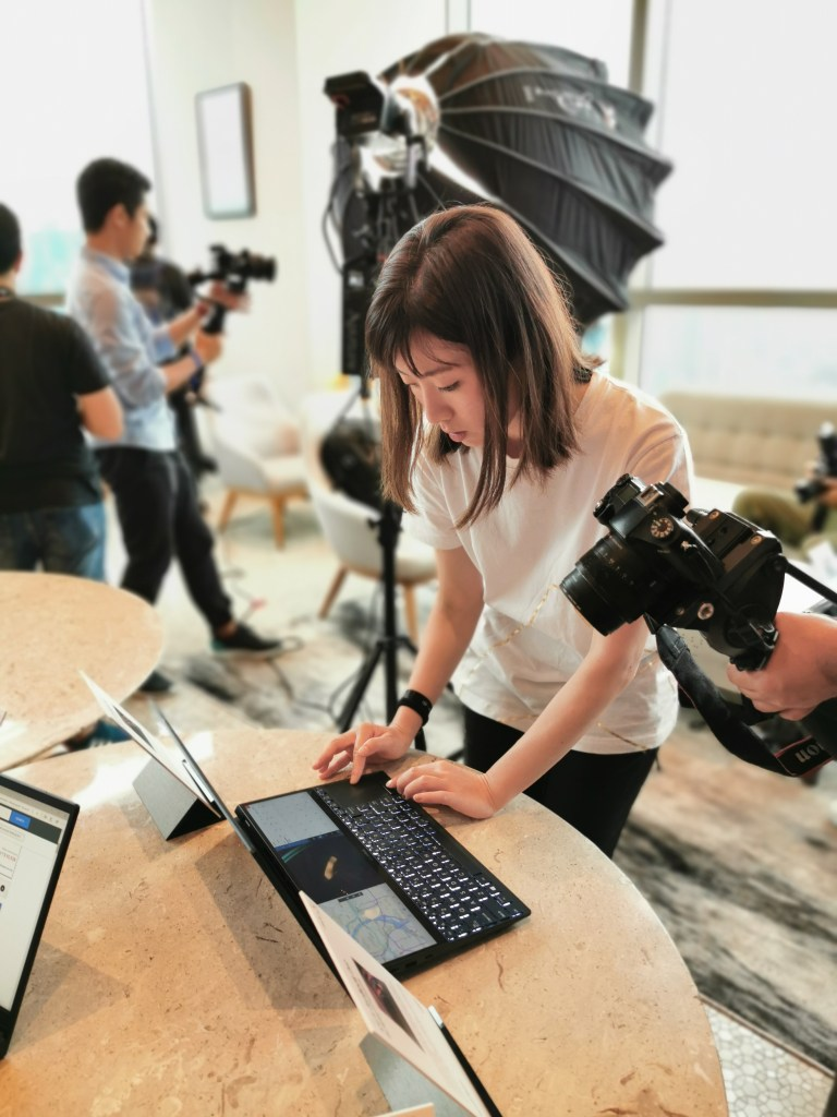 Asus ZenBook Pro Duo in action
