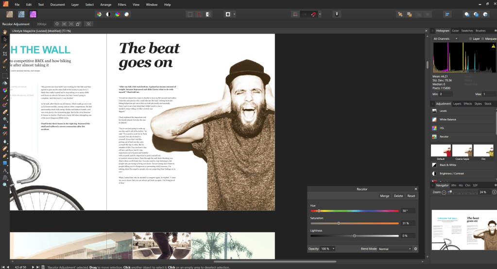 Affinity Publisher Studio Link