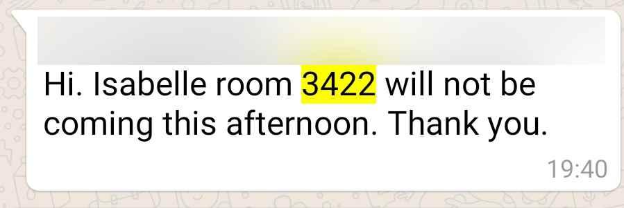 TUI WhatsApp