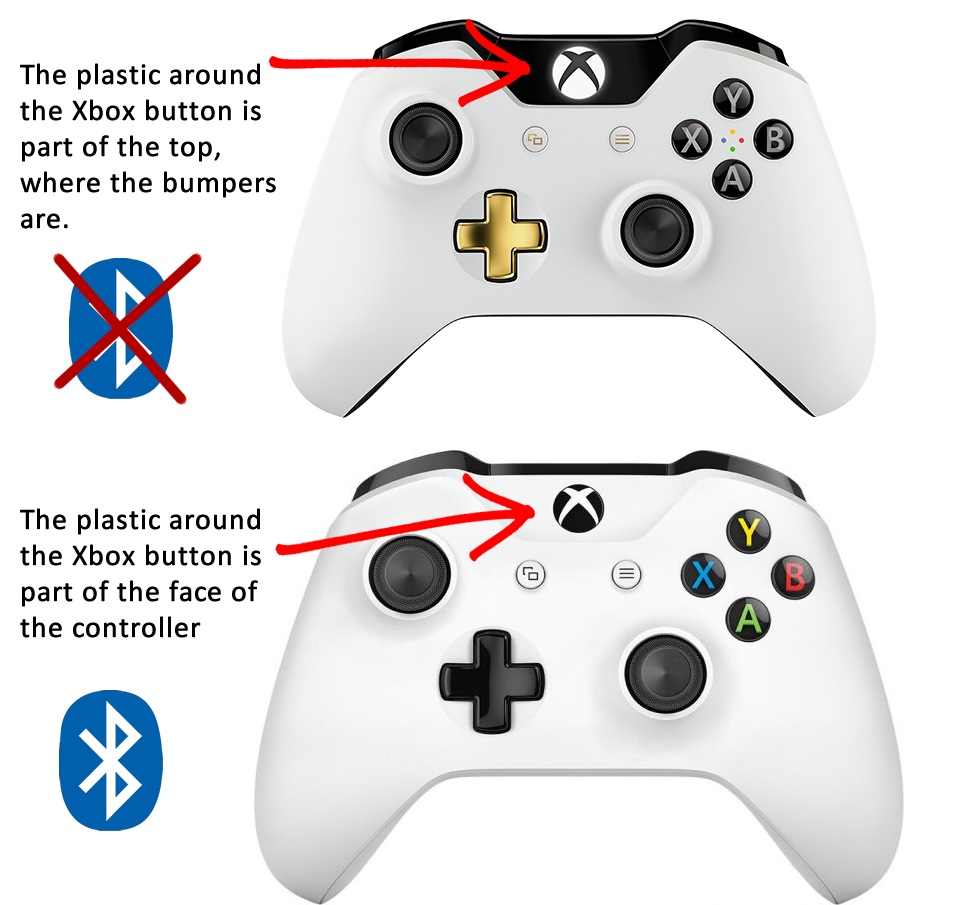 Which Xbox One controller is Bluetooth