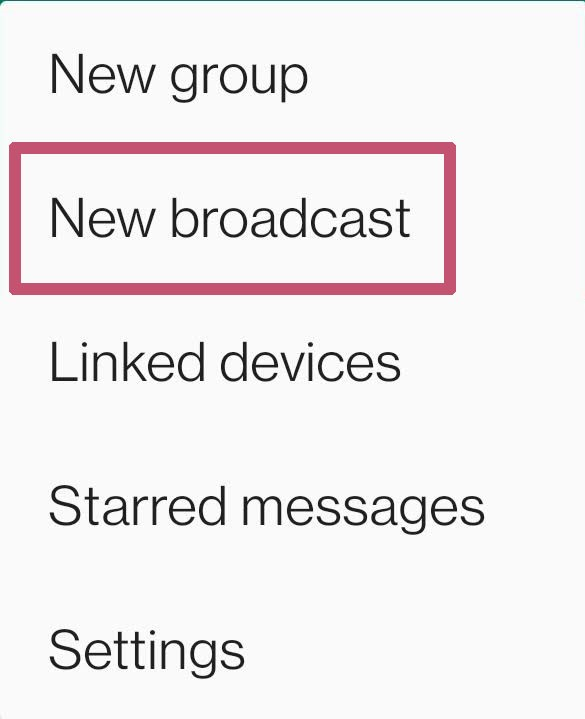 message to multiple people on WhatsApp without creating a group