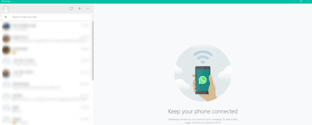 Why can't I link my WhatsApp PC app with my Android phone