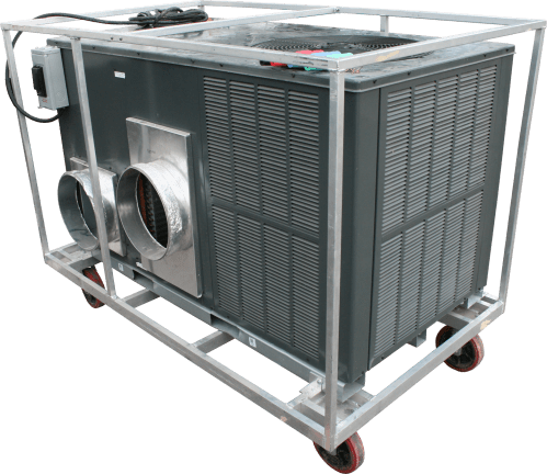 small resolution of 5 ton single phase outdoor air conditioner for rent by amana