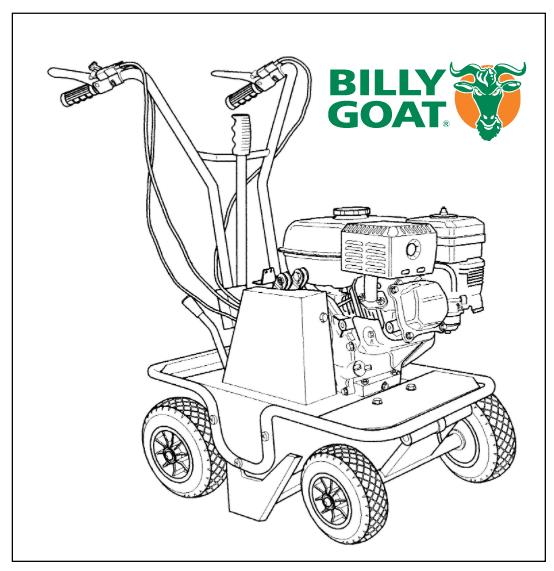 Billy Goat: Powered lawn & sod cutter rental: Iowa City