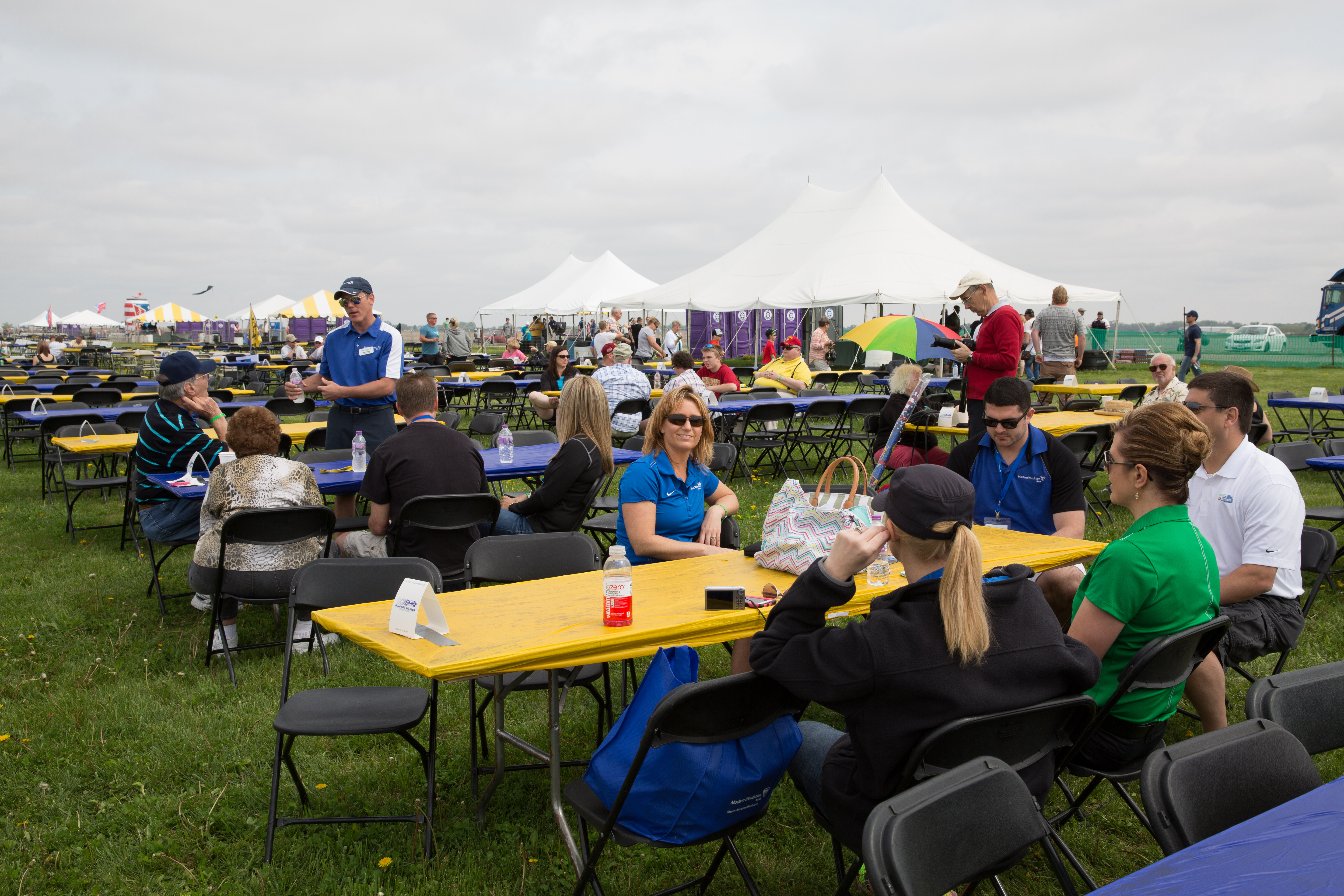 chair cover rentals quad cities stool retro event set up for 2015 city airshow in davenport ia
