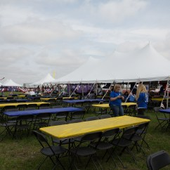 Chair Cover Rentals Quad Cities Swing Egg Ikea Event Set Up For 2015 City Airshow In Davenport Ia