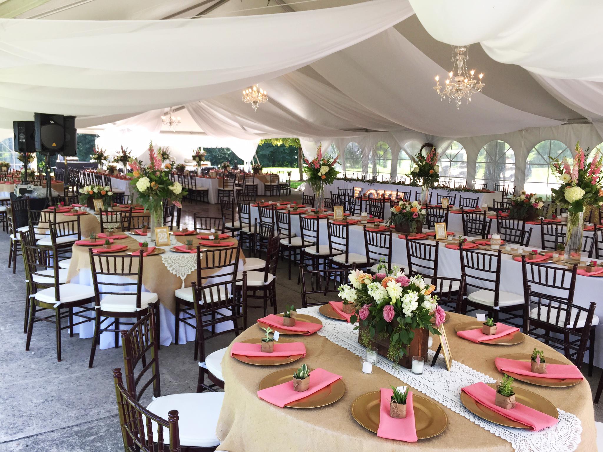 40' X 80' Hybrid Event Tent/structure Rental: Iowa, IL, MO