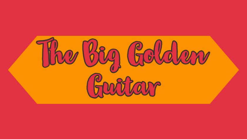 the big golden guitar
