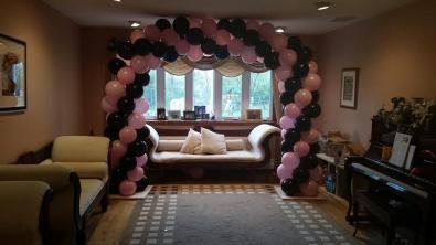 Pink Balloon Arc