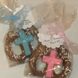 communion chocolate pretzels
