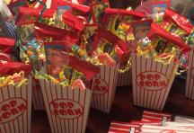 popcorn candy favor