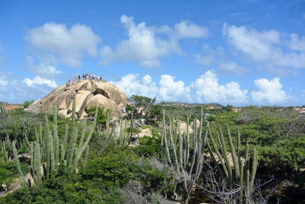 Rock Formations in Aruba