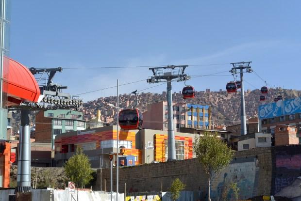 Cable Car in La Paz