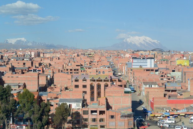 Views of La Paz, Bolivia