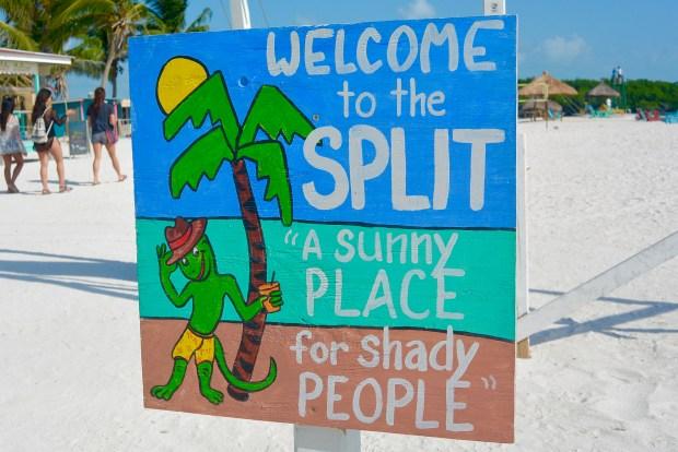 Split Sign