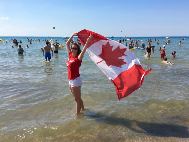 Canada Day in Wasaga Beach, Ontario