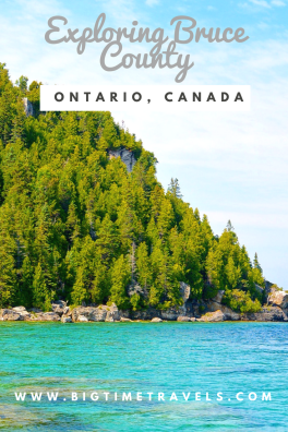 Bruce County is situated in Southwestern Ontario, nestled on the edge of Lake Huron. Bruce County boasts beautiful beaches and is famous for its alluring coastal views and rugged escarpment. #BruceCounty #Ontario #Canada