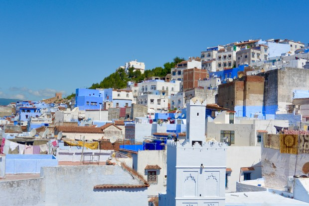 Blue roofs in Chefchaouen