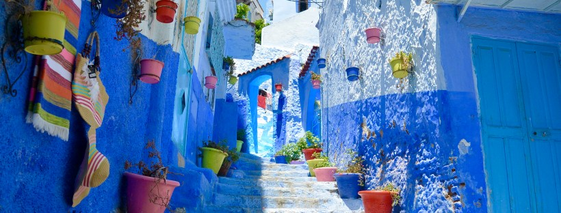 chefchaouen morocco s magical blue city big time travels