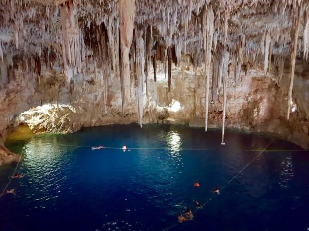 Agua Dulce Cenote near Cancun