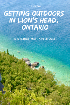 Lion's Head, Ontario is located on the Bruce Peninsula, south of Tobermory. Lion's Head offers amazing things to see and do for outdoor enthusiasts. #LionsHead #Ontario #BruceCounty #Canada