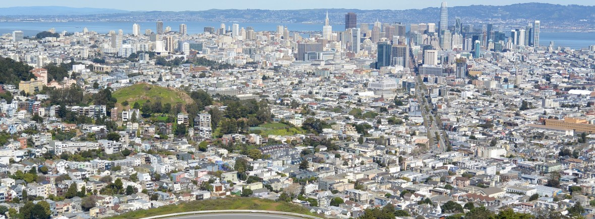 View of San Fransisco from Twin Peaks