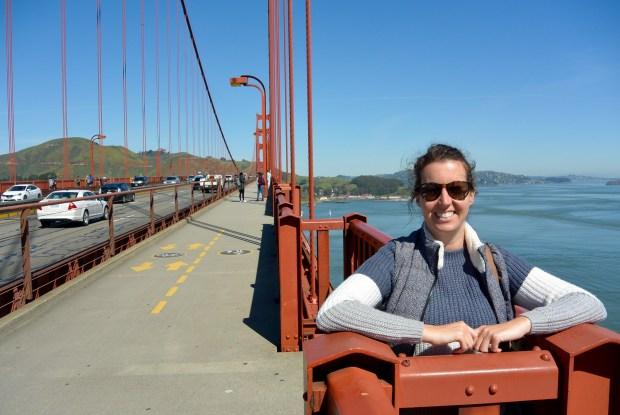 Walking Across the Golden Gate Bridge