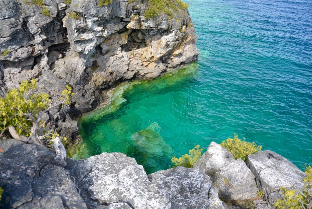 Crystal clear water in Tobermory