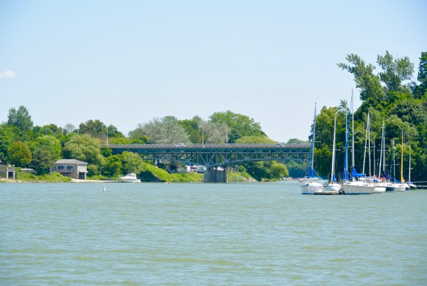 Saugeen River in Southampton