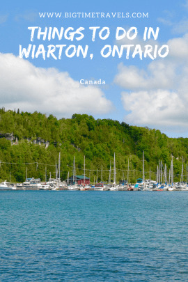 Things to do in Wiarton, Ontario Pin