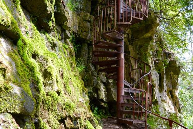 Spiral Staircase at Spirit Rock Conservation Area