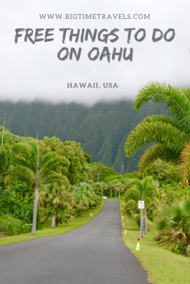 Free Things to do on Oahu, Hawaii