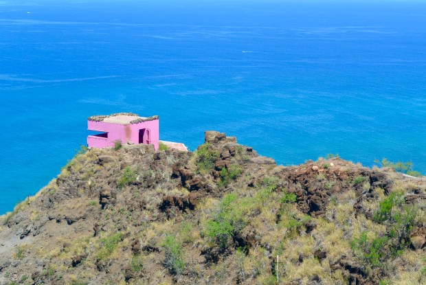 Pillbox On Oahu