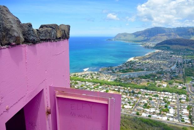 Maili (Pink) Pillbox on Oahu
